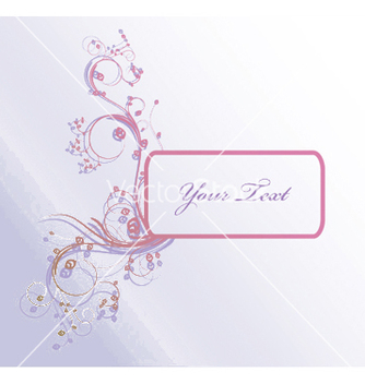 Free floral frame vector - Kostenloses vector #244865