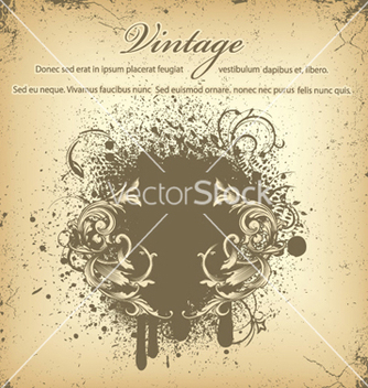 Free vintage background vector - Kostenloses vector #244935