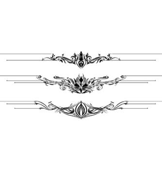 Free vintage floral vector - Free vector #245205