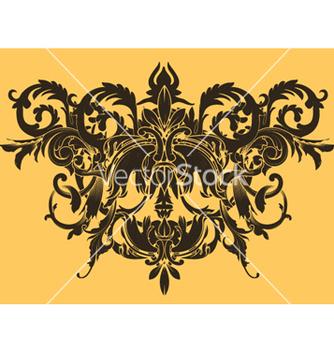 Free vintage floral vector - Kostenloses vector #245855