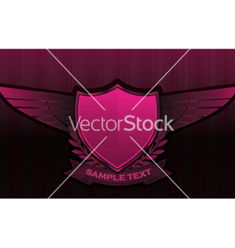 Free vintage emblems with shield vector - Kostenloses vector #246535