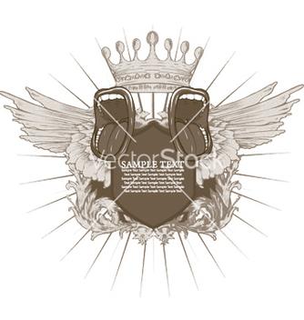 Free vintage music emblem vector - vector #246885 gratis