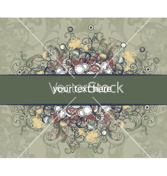 Free vintage floral background vector - Kostenloses vector #247315