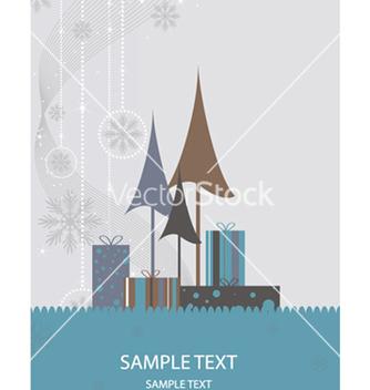 Free christmas greeting card vector - Kostenloses vector #247355