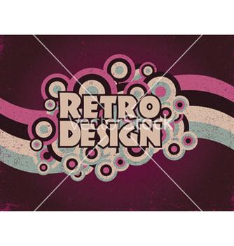 Free retro poster vector - Free vector #247905