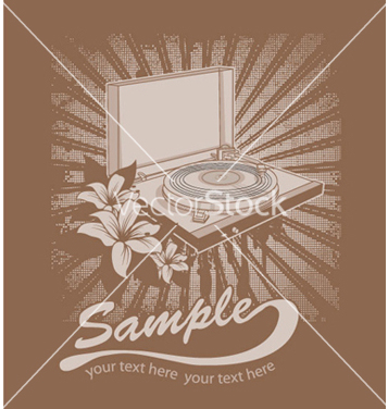 Free music tshirt design vector - Free vector #248235