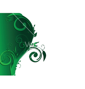 Free abstract background with floral vector - Free vector #248295