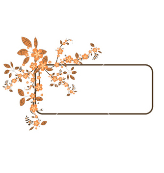 Free floral frame vector - Kostenloses vector #248485