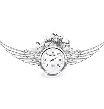 Free speedometer emblem vector - Kostenloses vector #249085