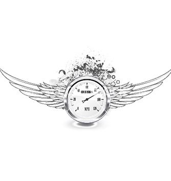 Free speedometer emblem vector - Free vector #249085