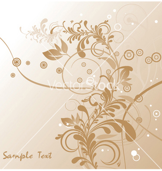 Free abstract floral vector - Kostenloses vector #249145