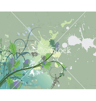 Free vintage floral background vector - Free vector #249275