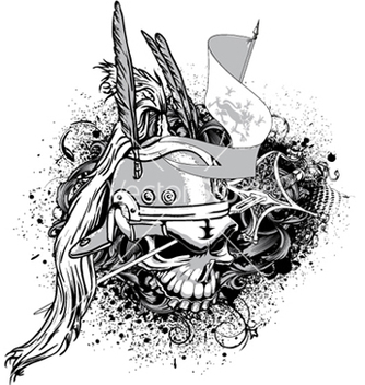 Free vintage emblem vector - Kostenloses vector #249335