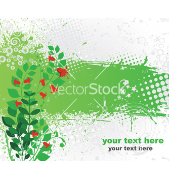 Free spring floral background vector - Free vector #249475