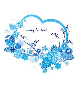 Free floral frame vector - Kostenloses vector #249695