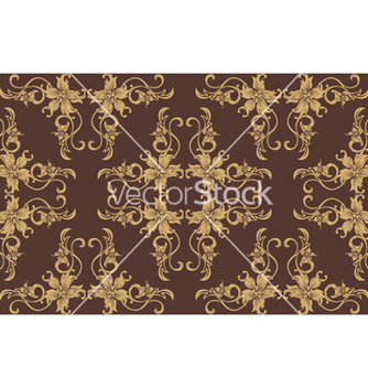 Free seamless floral pattern vector - Free vector #250195