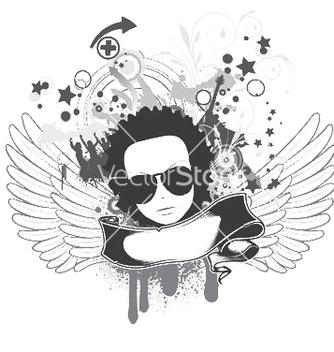 Free music emblem vector - Kostenloses vector #250245