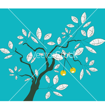 Free tree with lots of leaves vector - бесплатный vector #250865