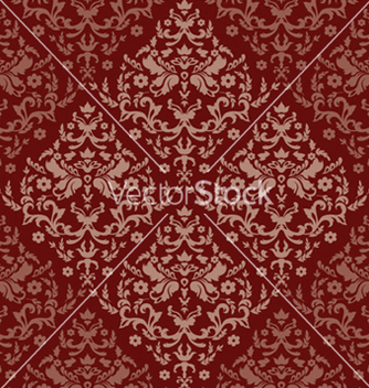 Free damask seamless pattern vector - Kostenloses vector #251115