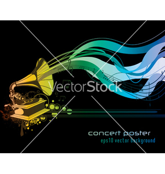 Free concert poster vector - Free vector #251385