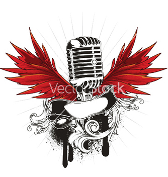 Free music emblem vector - Free vector #252005