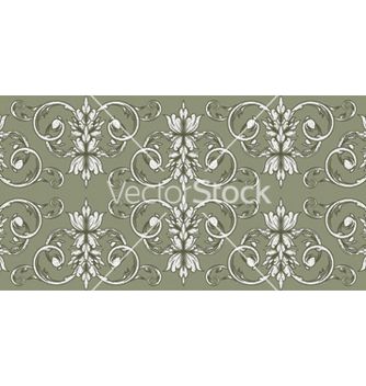 Free floral seamless pattern vector - Kostenloses vector #252695