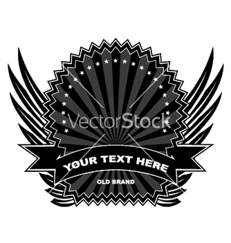 Free vintage label with scroll vector - Free vector #252945