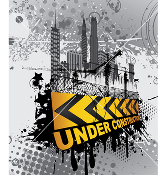 Free under construction sign vector - Free vector #253045
