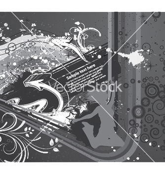 Free abstract background with 3d arrows vector - Free vector #253115