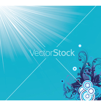 Free abstract floral vector - Free vector #253555