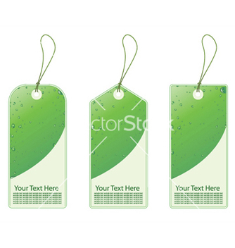 Free green shopping tags vector - vector gratuit #253855