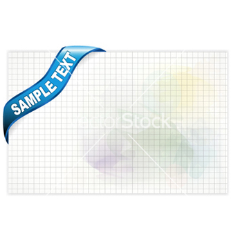 Free paper with ribbon vector - Free vector #254585