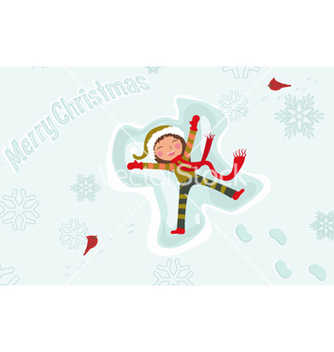 Free christmas greeting card vector - Kostenloses vector #254755