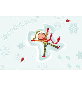Free christmas greeting card vector - vector #254755 gratis