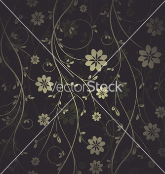 Free seamless floral pattern vector - Free vector #254955