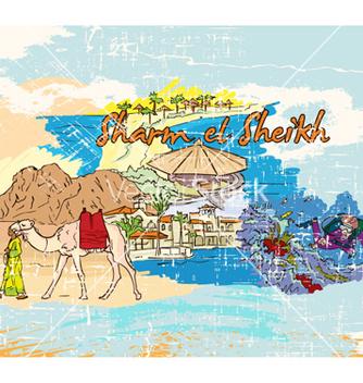 Free sharm el sheikh doodles vector - vector #254975 gratis