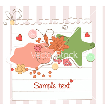 Free spring floral frame vector - Free vector #255695