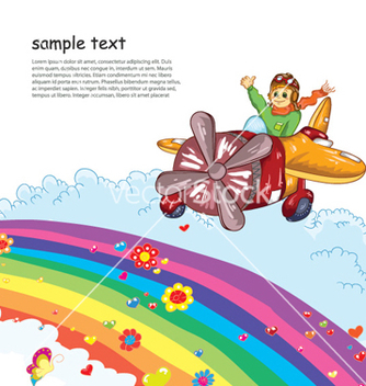 Free cartoon background vector - Free vector #255845