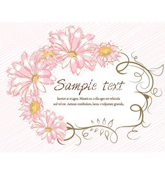 Free colorful floral frame vector - Kostenloses vector #255895