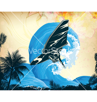 Free summer background vector - Free vector #256015