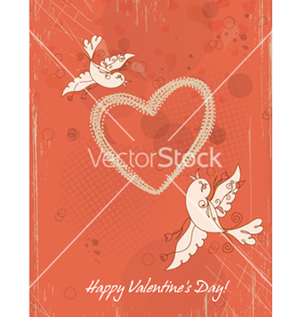 Free valentines day background vector - Free vector #256025