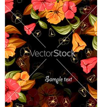 Free spring colorful floral background vector - бесплатный vector #256315