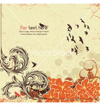 Free vintage background vector - Kostenloses vector #256325