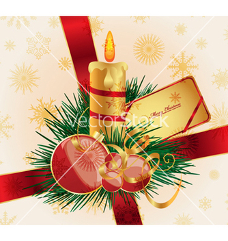 Free christmas background vector - Free vector #256485
