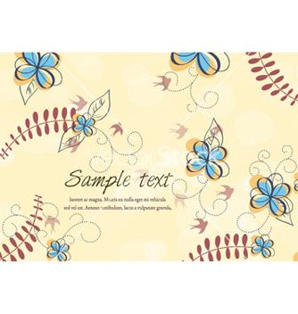 Free colorful floral vector - Kostenloses vector #256535