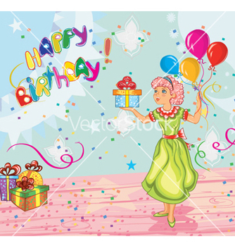 Free kids birthday party vector - Free vector #256645