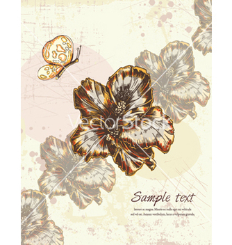 Free colorful floral background vector - Kostenloses vector #256765