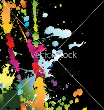 Free watercolor grungy background vector - Free vector #257035