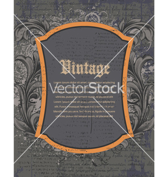 Free vintage background vector - Free vector #257265