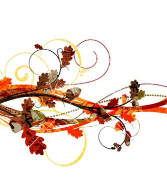 Free watercolor floral background vector - бесплатный vector #258005